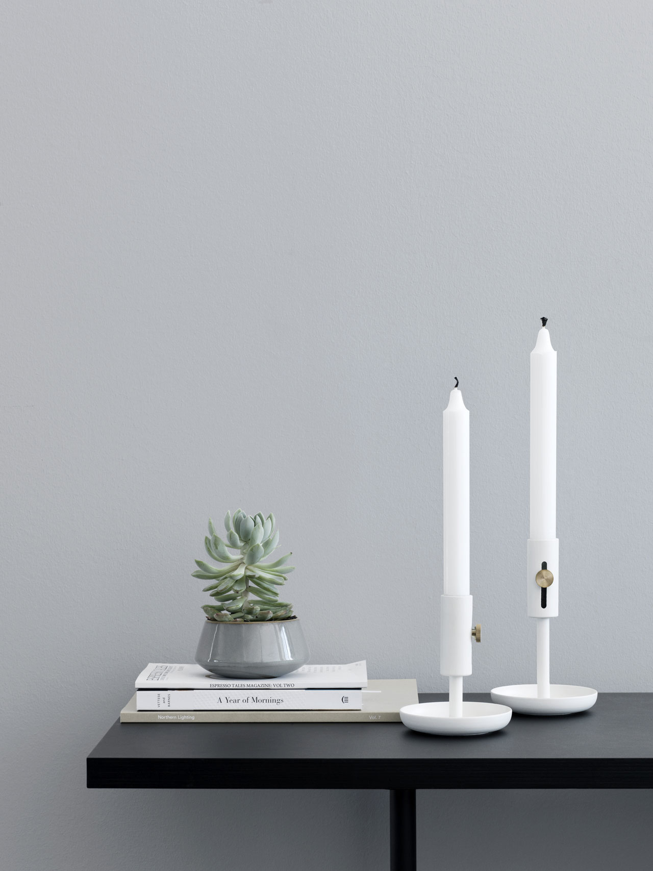 Granny candlestick by Rudi Wulff for Northen Lighting. Photo by Chris Tonnesen.
