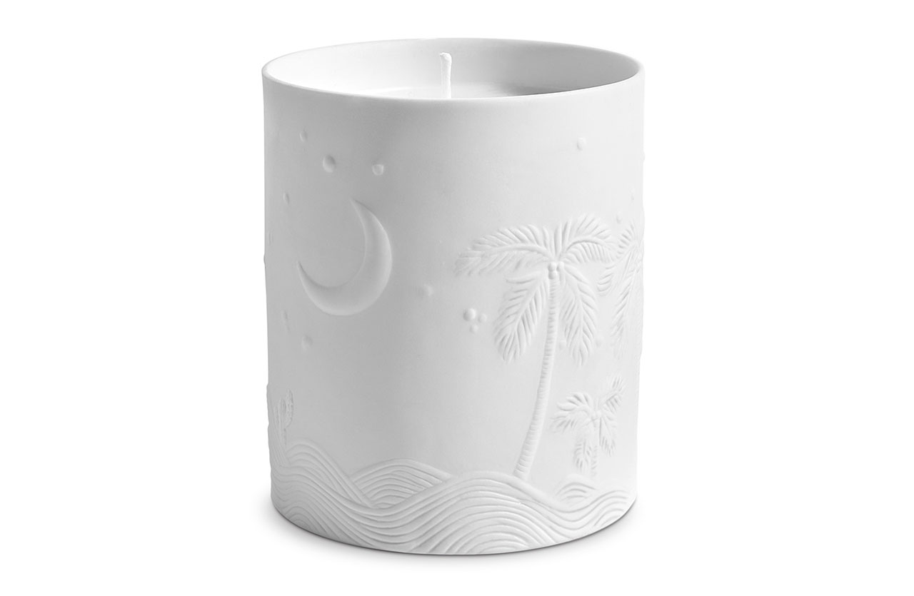 Mojave Palm Candle by Haas Borthers & L'objet © L'objet.