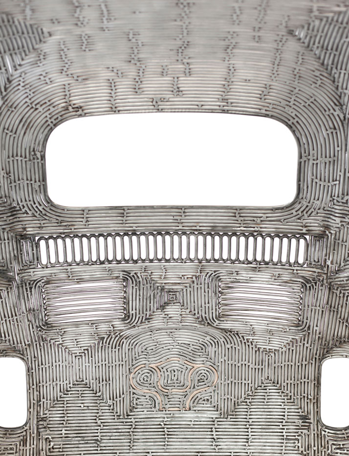 In Reverse,Roddy Giacosa(back detail), 2013.Photo by Roddy Giacosa, Courtesy of Ron Arad Associates.