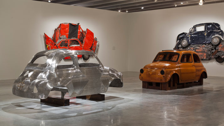 In Reverse, Installation View.Courtesy of Ron Arad Associates.