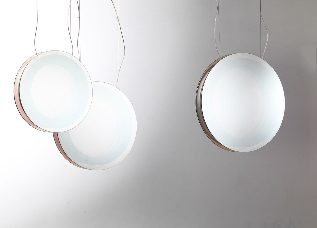 INFINITAhanging light + mirrorby Filippo Mambretti(Mambrò Design Studio) for MOGG.