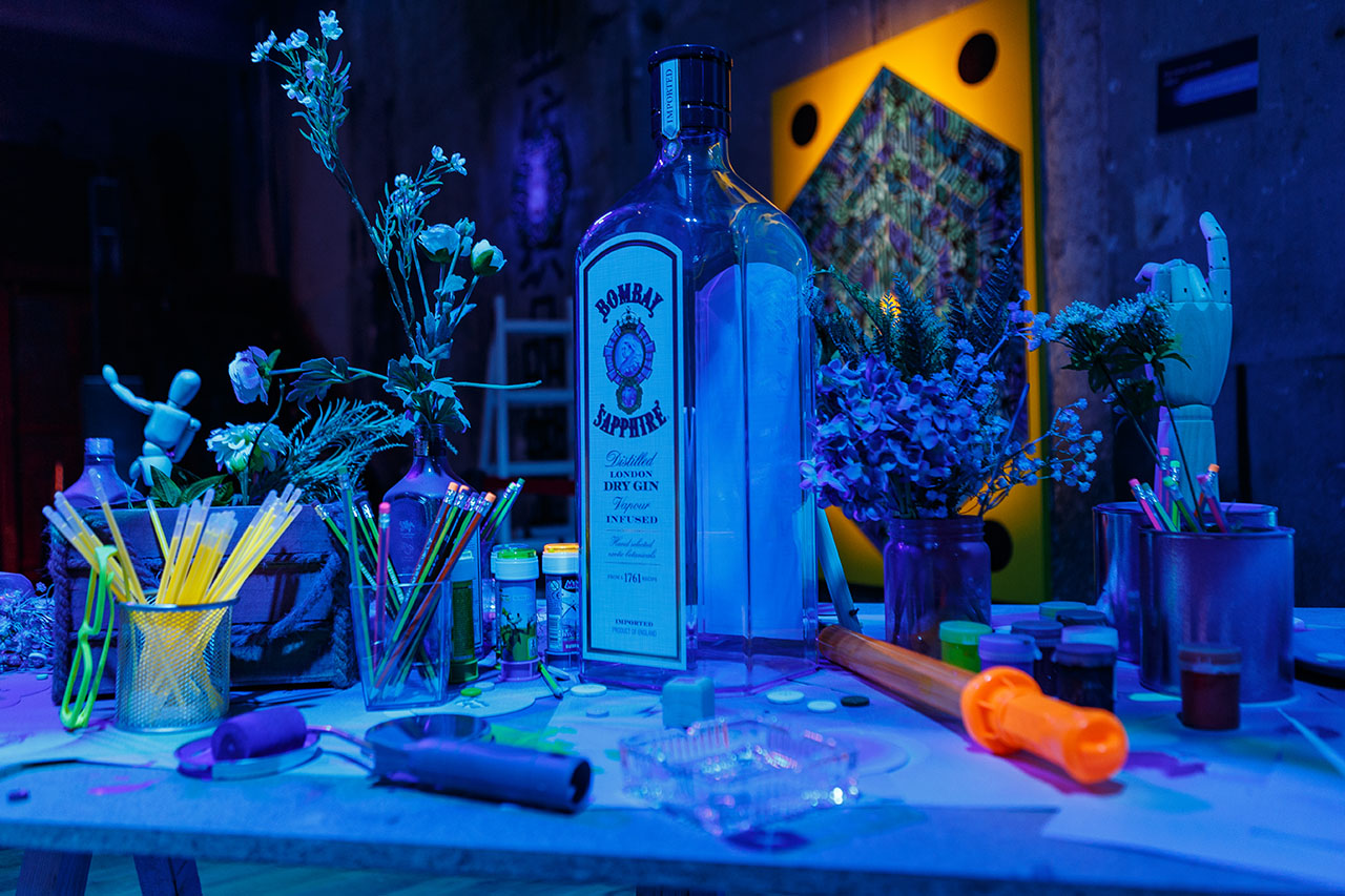 CANVAS event by Bombay Sapphire, Athens, January 2019. Photo by Kostas Dekoumes © Yatzer 2019.