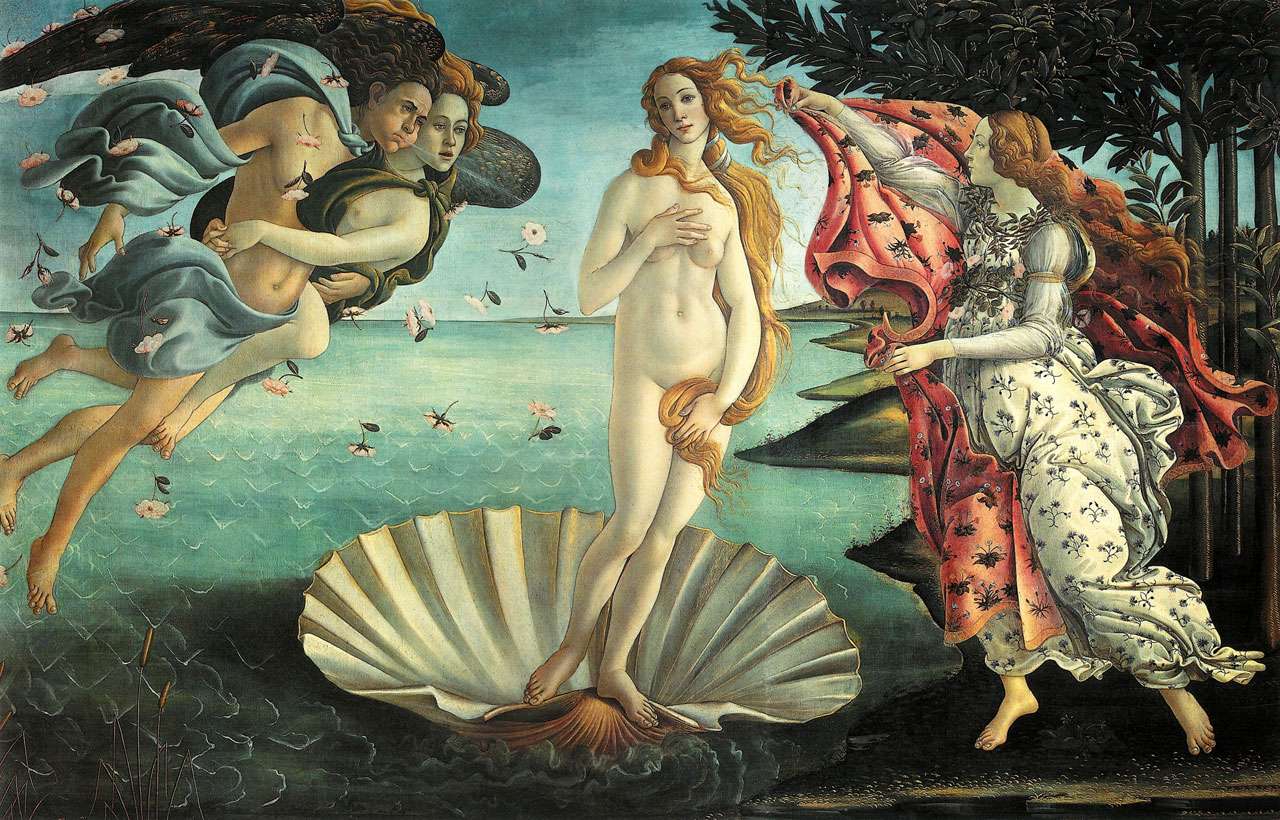 The Birth of Venus is a painting by Sandro Botticelli generally thought to have been made in the mid 1480s.