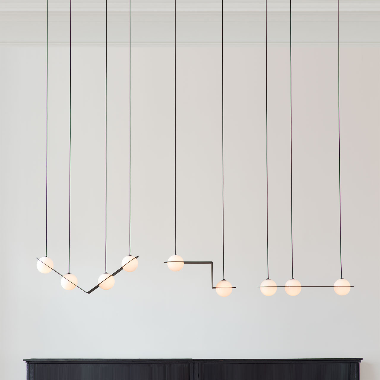 Laurent lighting collection by Lambert & Fils.