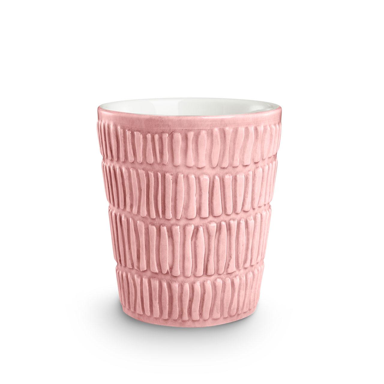 Stripes Light Pink mug. © Mateus Ceramics, 2020.