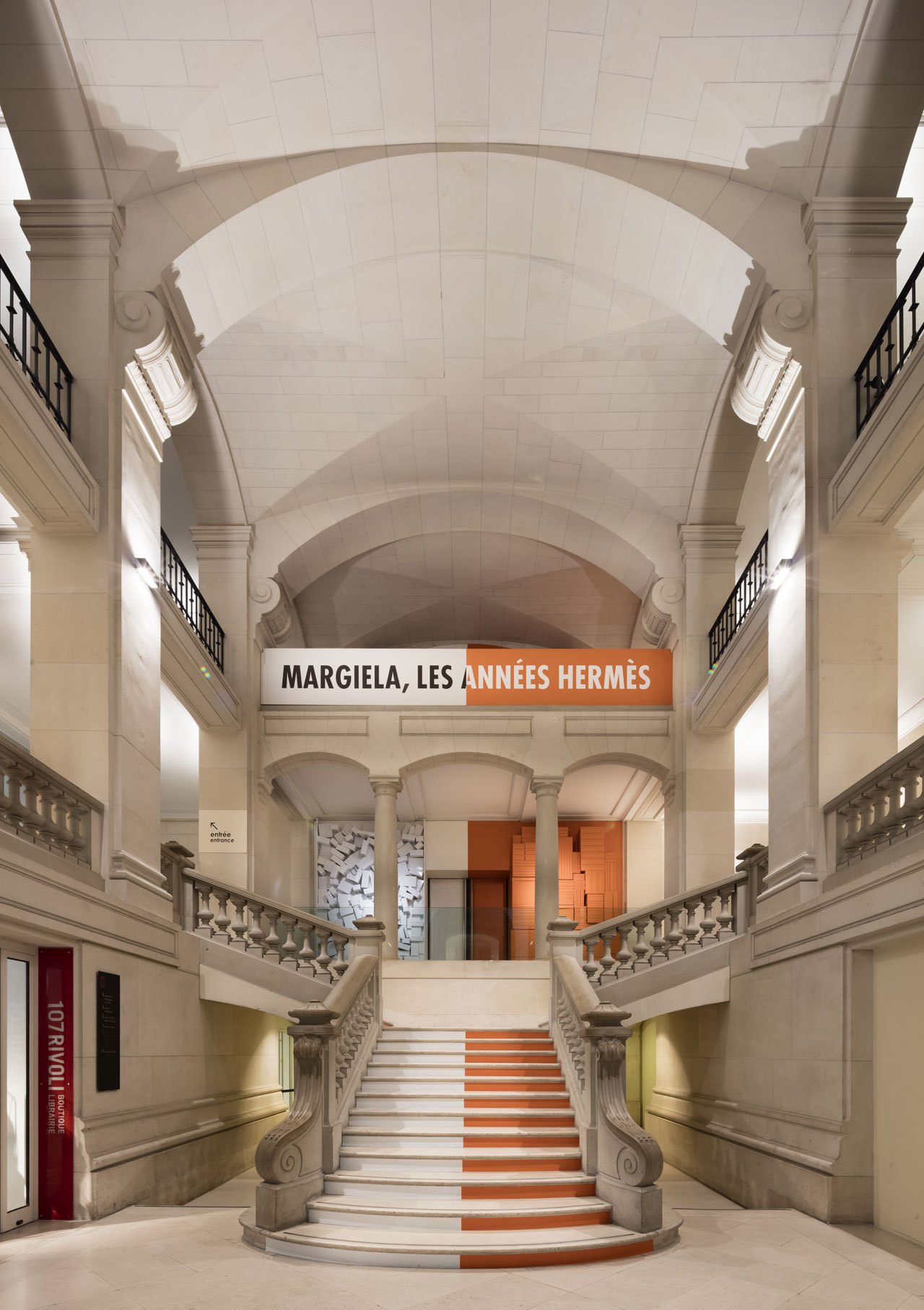 """Margiela, les années Hermès"" installation view at the Musée des Arts Décoratifs in Paris. The exhibition will be on view till 2 September 2018. Photo by Luc Boegly."
