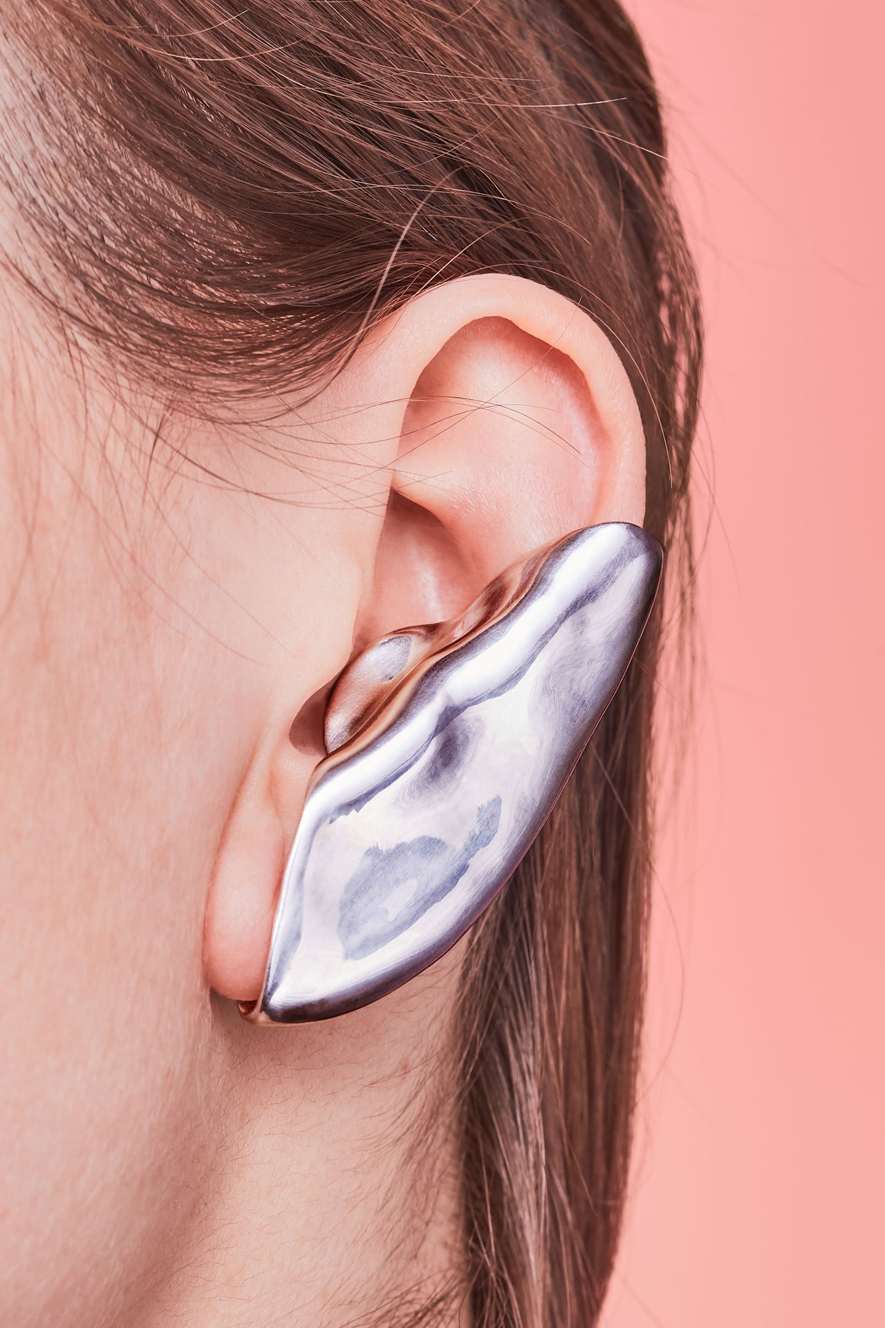Embracing Touch jewelry collection by Lithuanian designer Marija Puipaitė.
