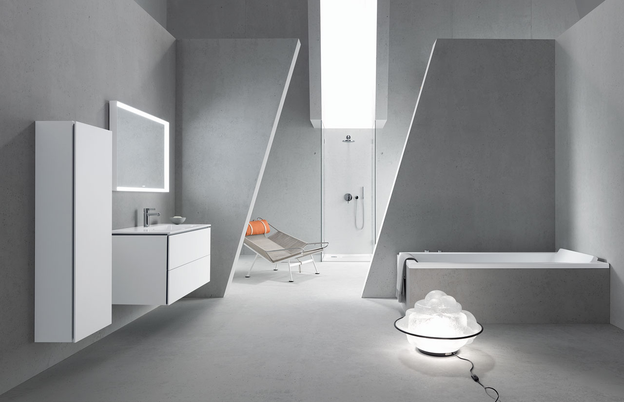 ME by Starck range of ceramics, bathtubs, shower trays and accessories designed by Philippe Starck for Duravit.