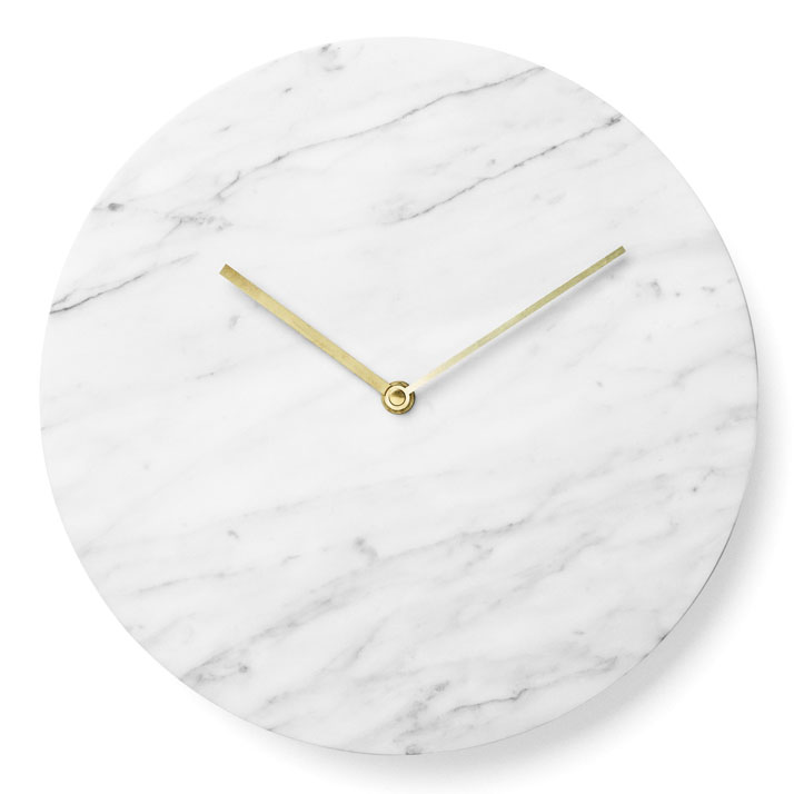 Marble Wall Clock by Norm Architects for Menu.