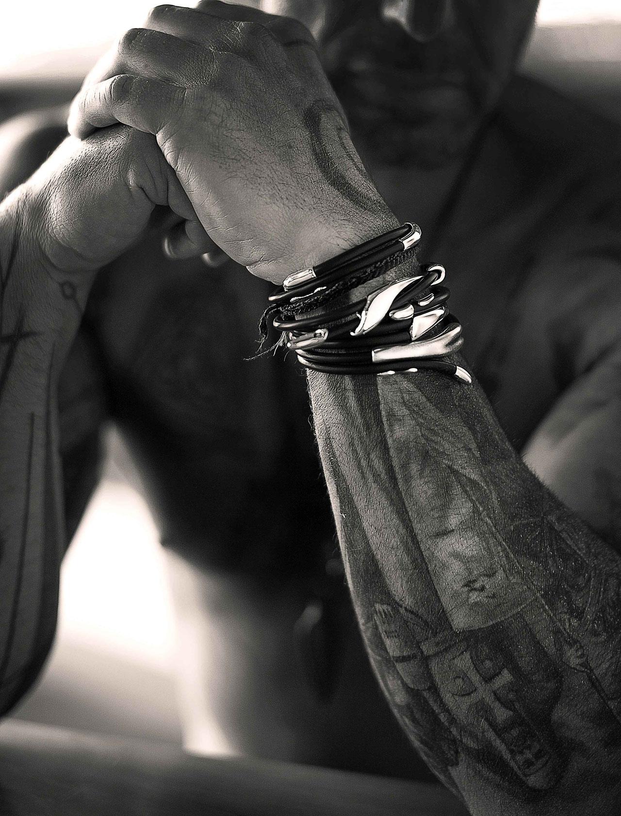 Wishbone braceletsby Minas.