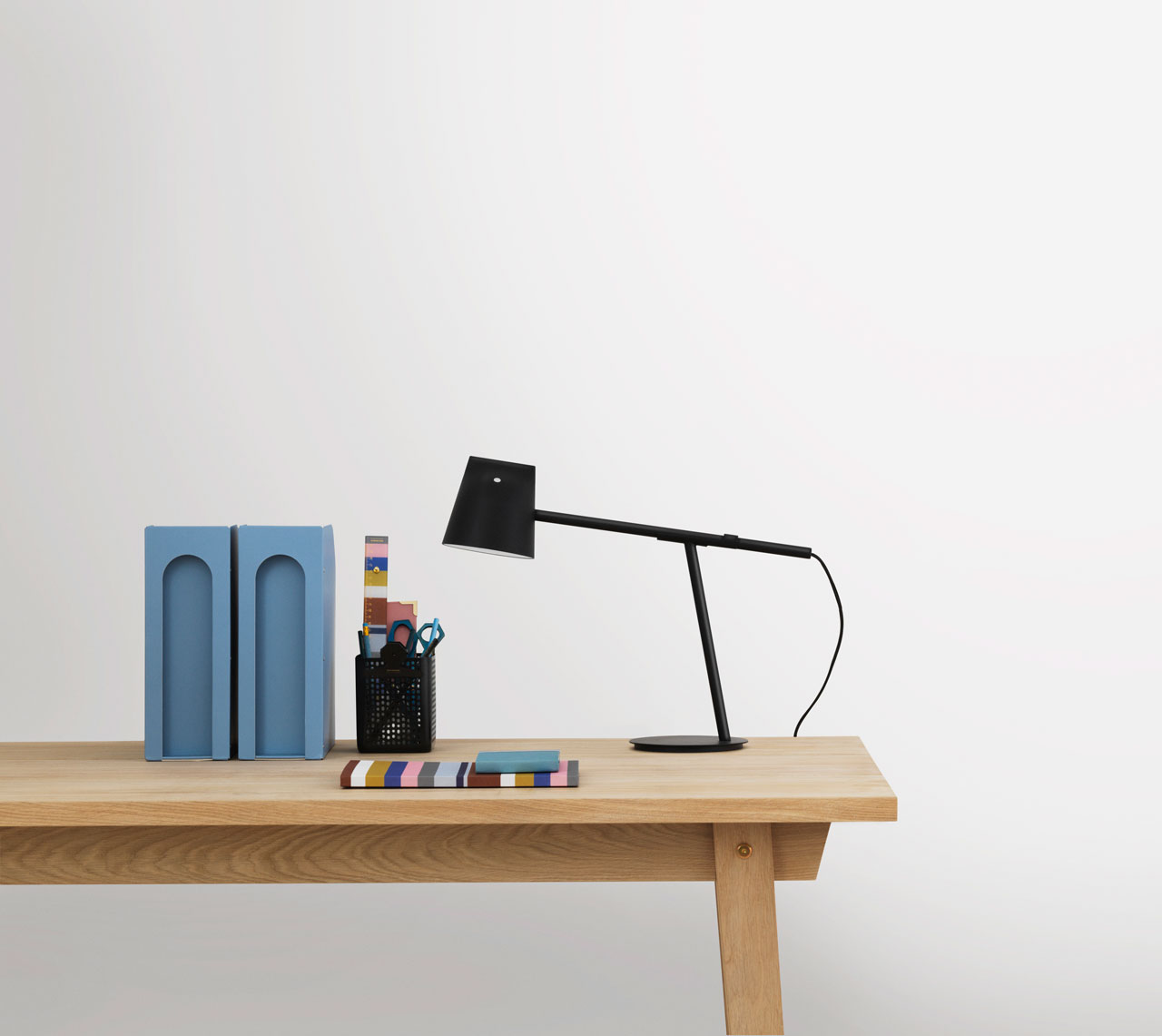 Momento desk lamp by Daniel Debiasi and Federico Sandri (Something design studio) for Normann Copenhagen.