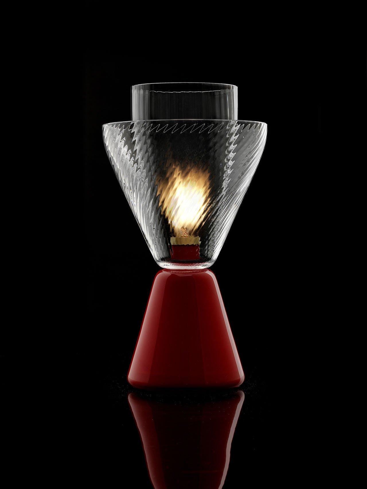 HALO oil lamp byLuca Nichetto forNasonMoretti.