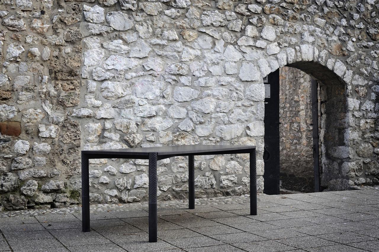 Neron dining table by Monica Förster Design Studio forZanat.