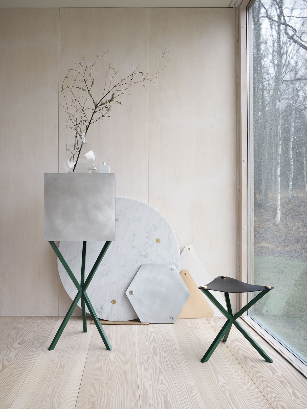 Per Söderberg launched newmembers to his No Early Birds Collection.