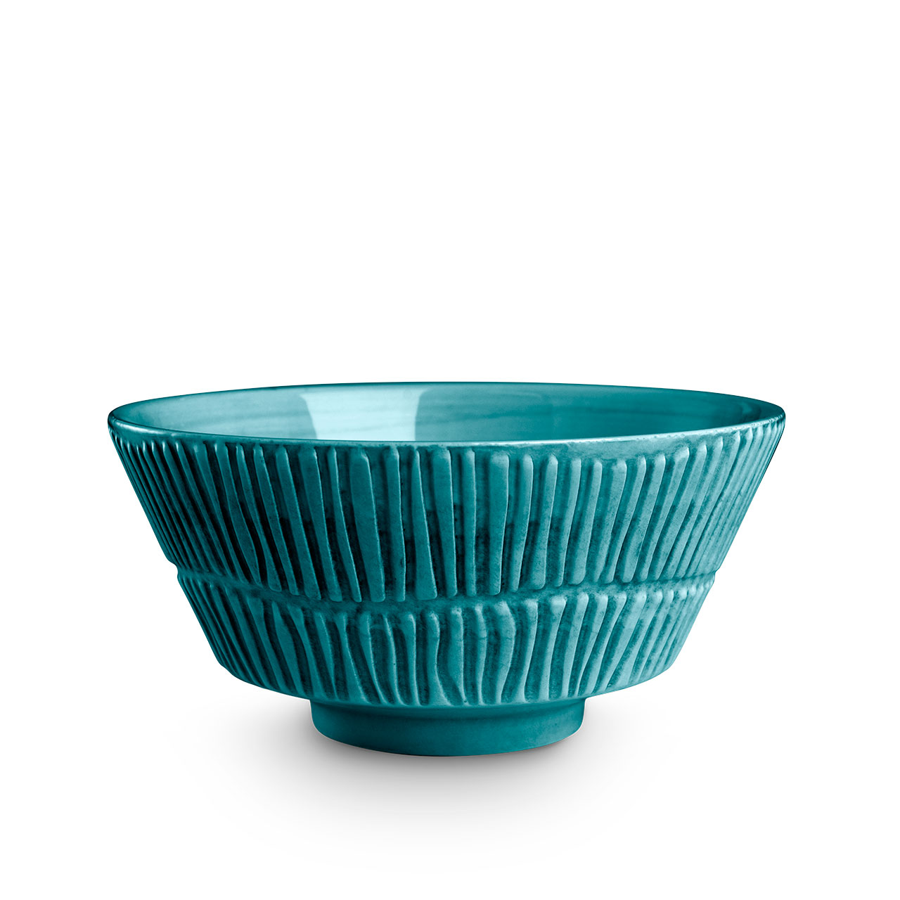 Stripes Ocean bowl. © Mateus Ceramics, 2020.