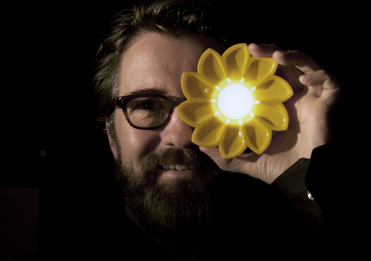Olafur Eliasson, Co-fouder of Little Sun.Photo © Inter IKEA Systems B.V.