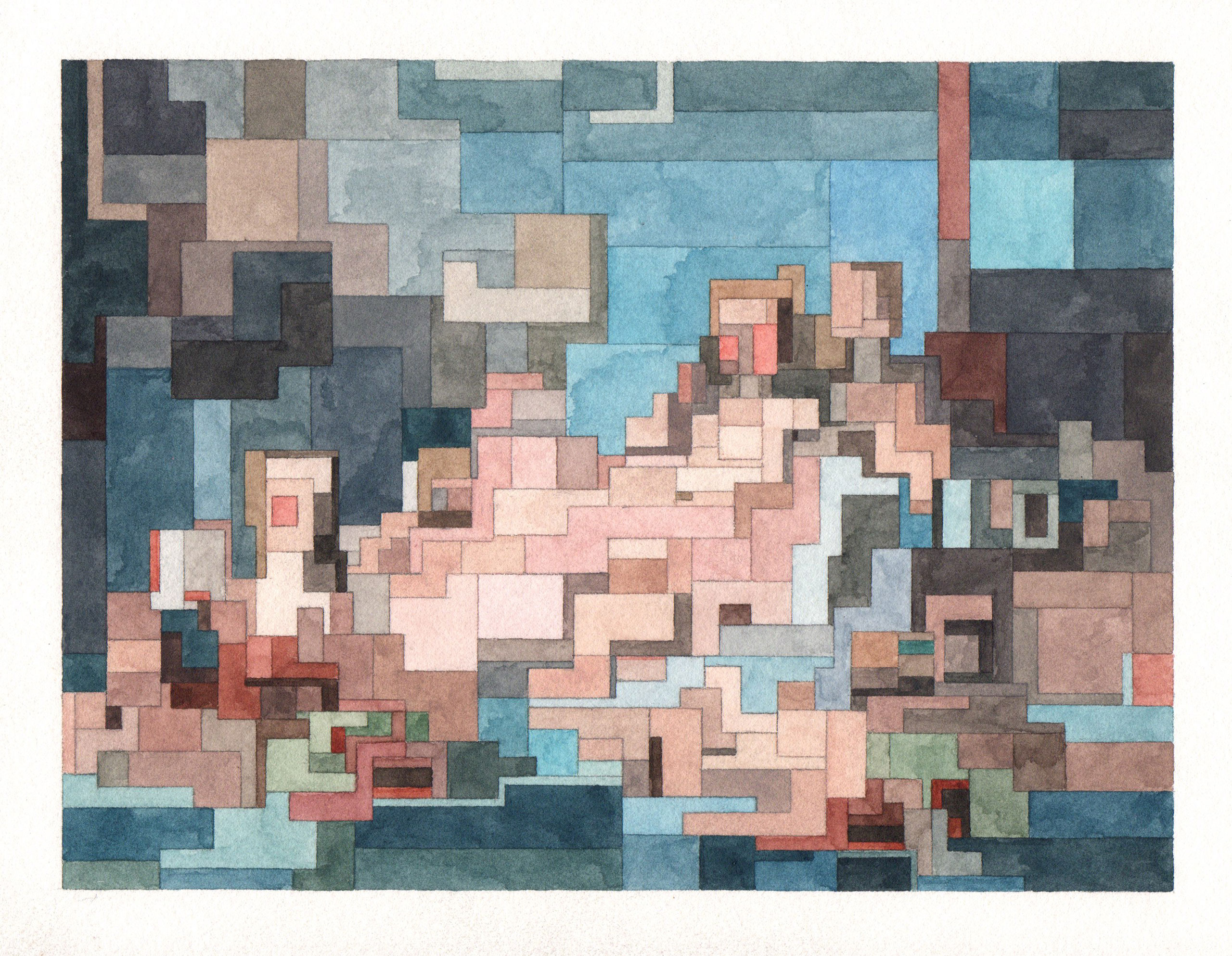The Birth of Venus, Art History 101 series by Adam Lister.(Original Painting by Jean-Honoré Fragonard, 1753-5).