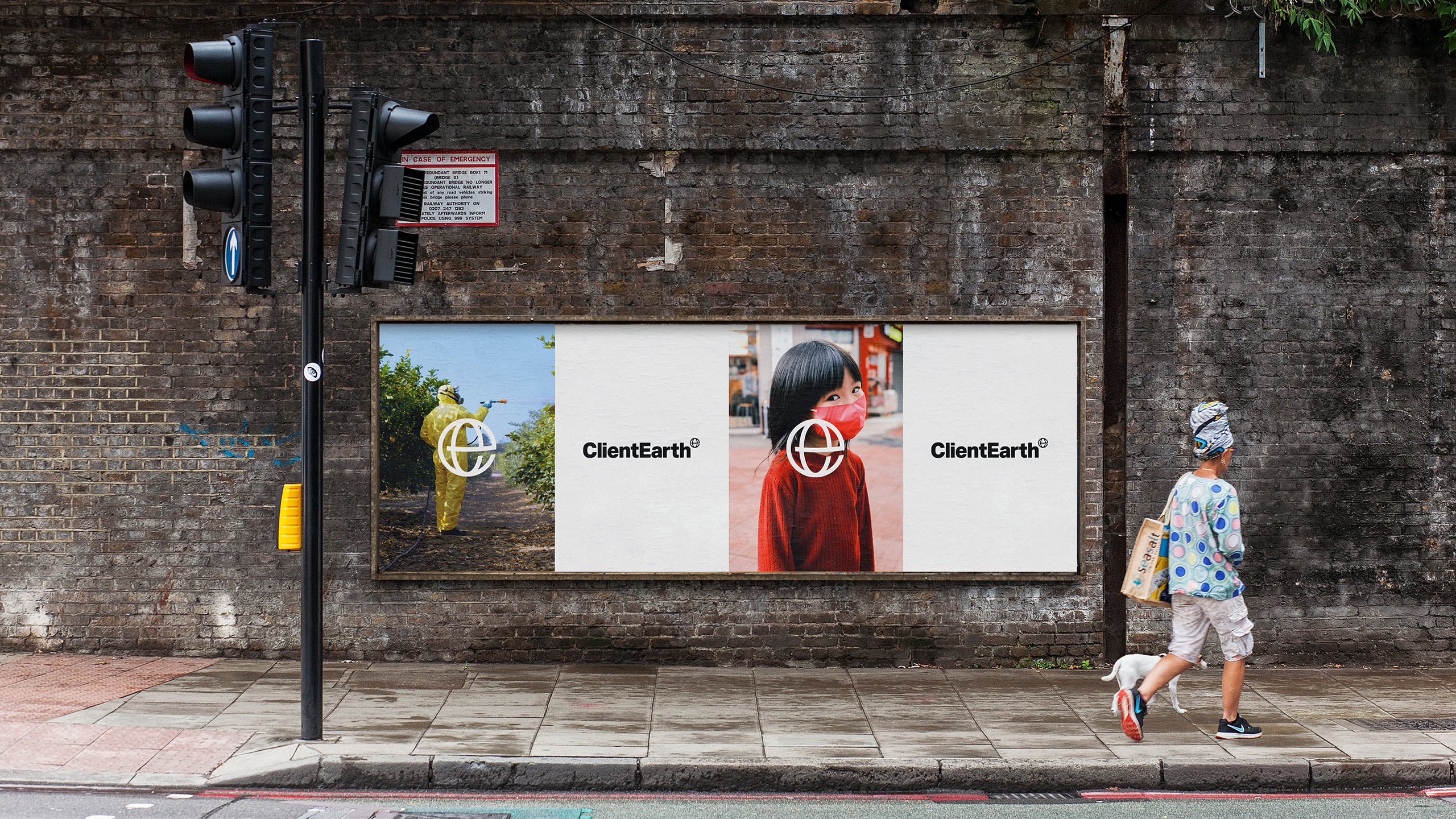 ClientEarth outdoor campaign. Strategy and creative direction by Apropos. Design and art direction by Erica Dorn. Strategy and copywriting by Clare Aitken.
