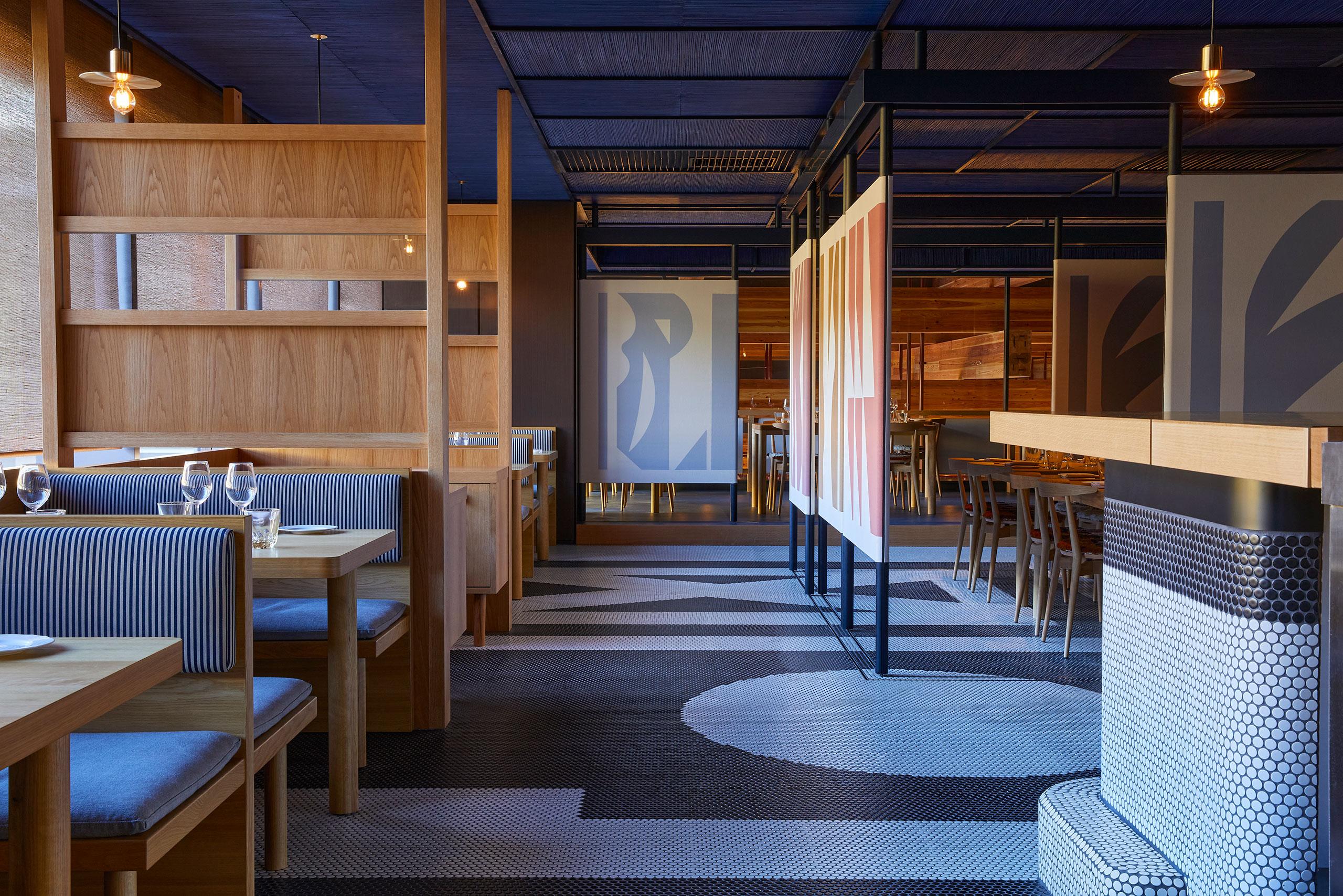 Ace Hotel Kyoto. Mr. Maurice's Italian restaurant. Photo by Yoshihiro Makino.