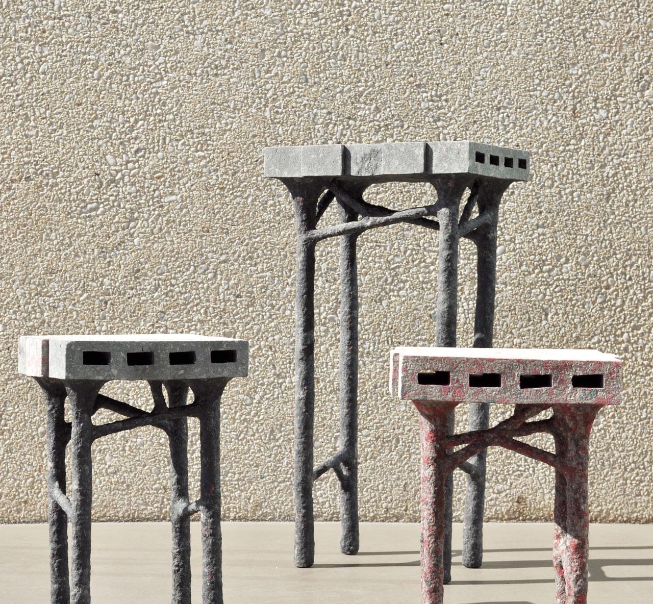 PaperBricks Sculpt series by WooJai Lee.