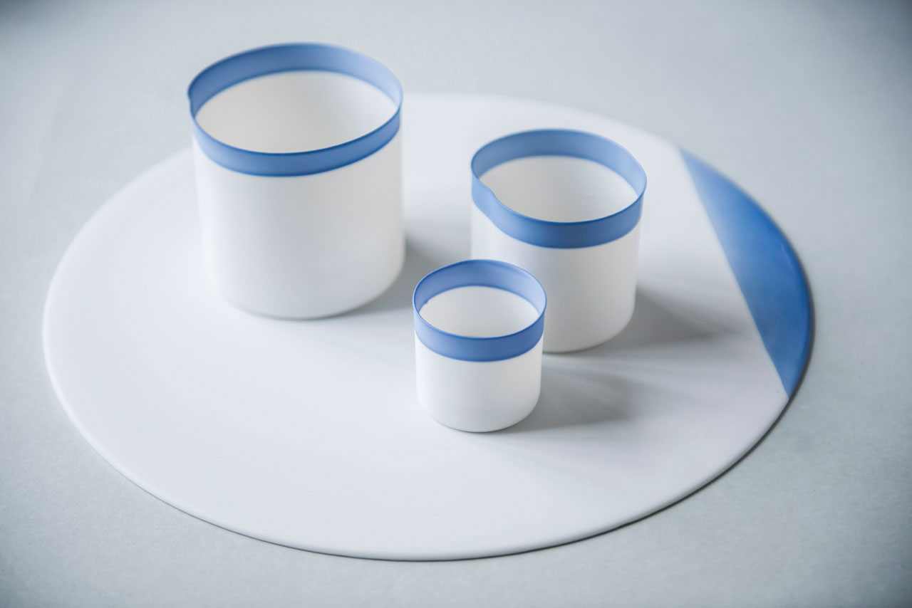 Porcelain tableware by Studio Pieter Stockmans.