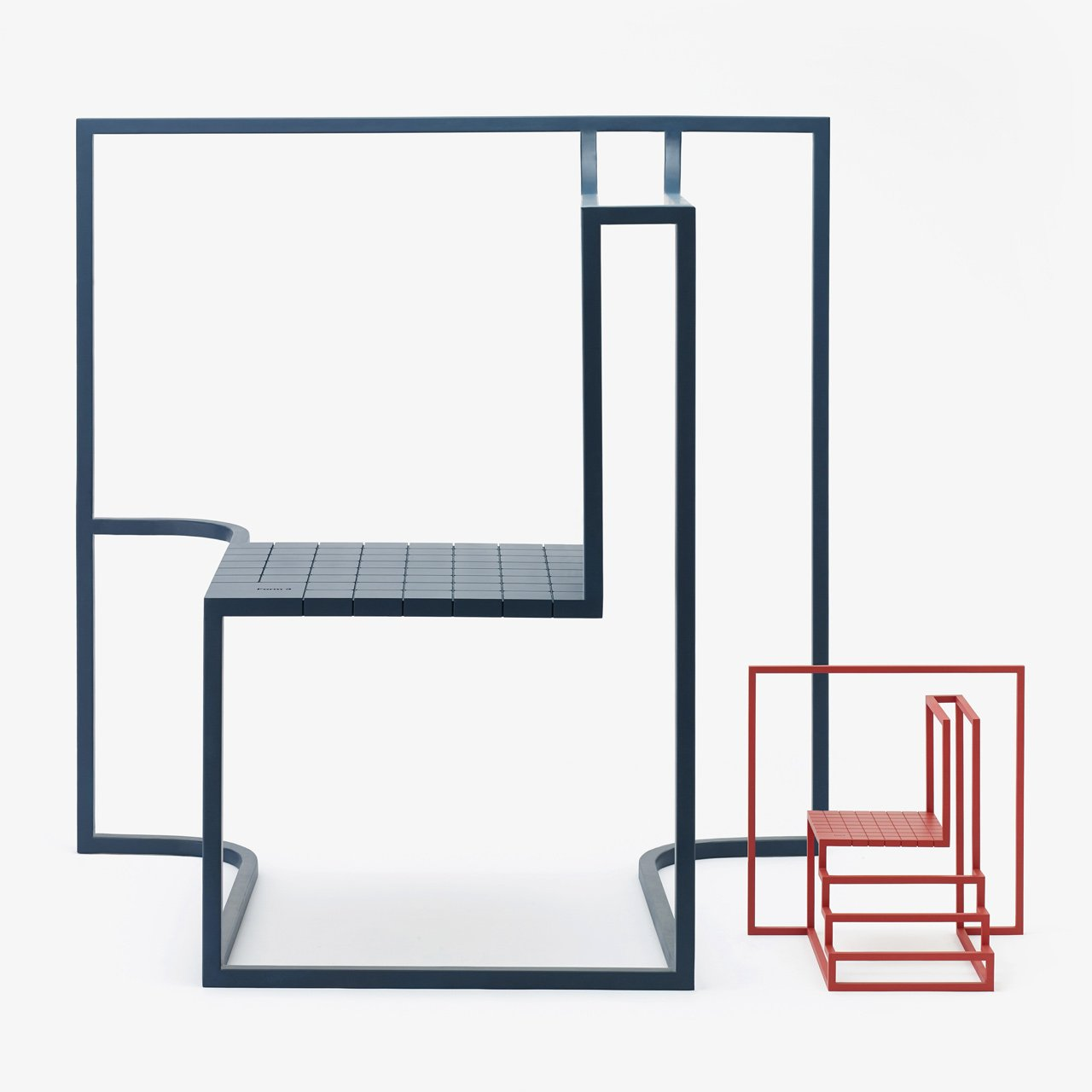 Shadows in the Windows by Andrea Ponti.Aproject that portrays Hong Kong's urban landscape through two symbolic elements: a window and a seat, in eight variations.