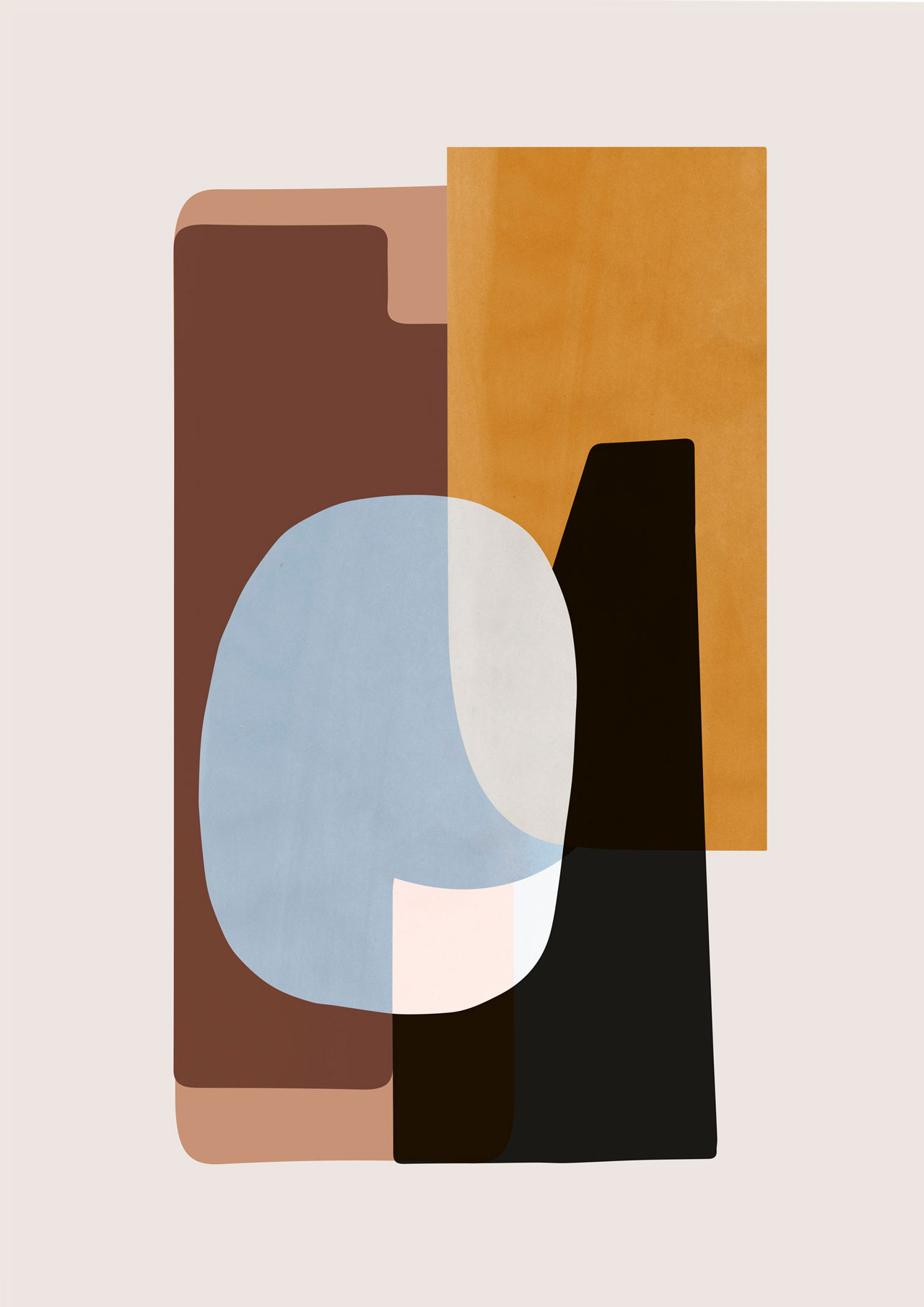 ABSTRACTION poster 50X70 cm by Ferm Living.