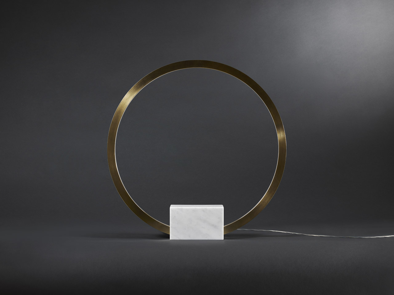 Portal-X table light by Christopher Boots. Melbourne Design Week at DXBDW.