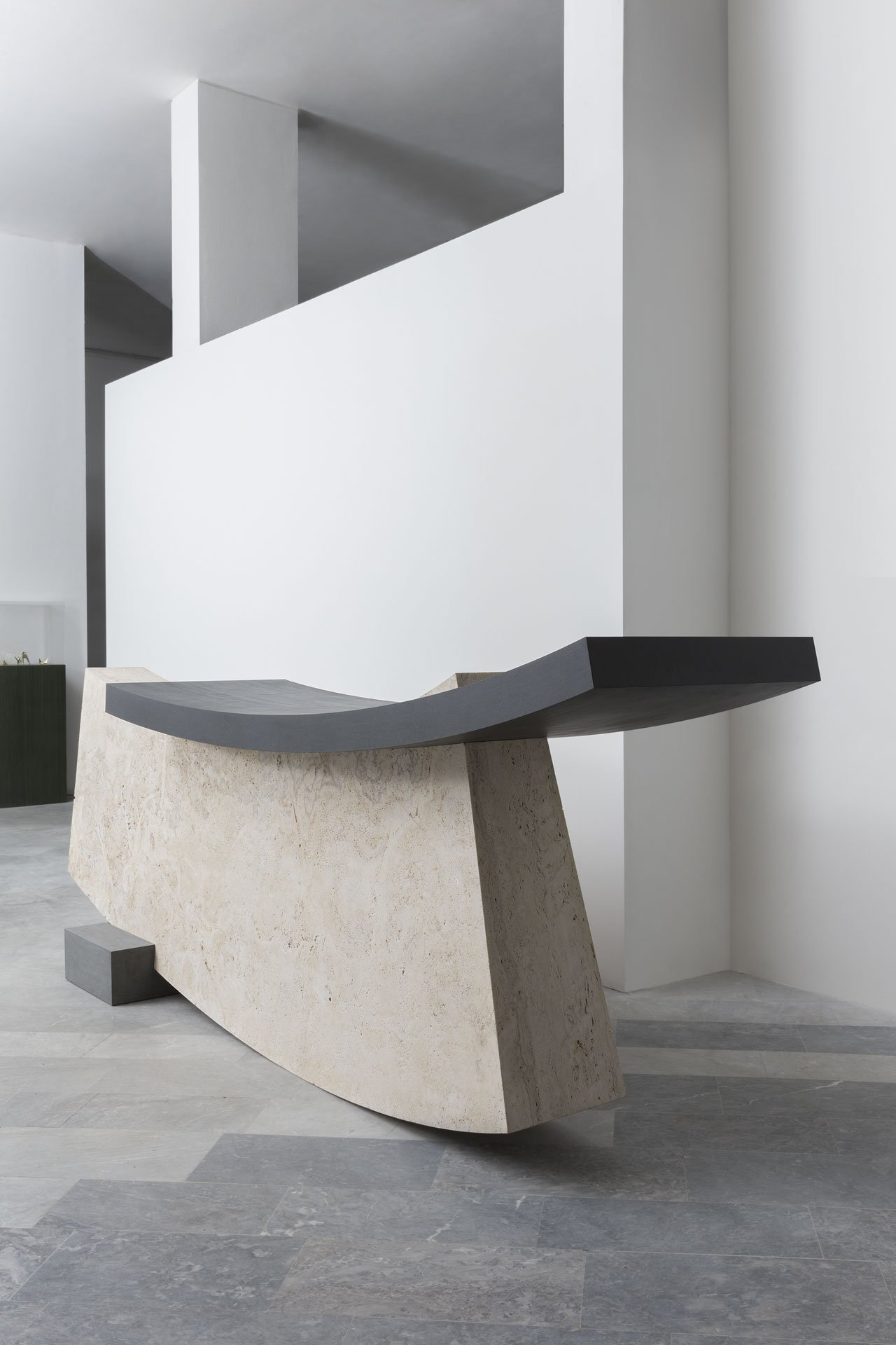 Reception desk by Wonmin Park and Testi for the Wallpaper*Handmade 2016 collection.