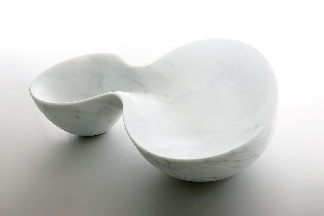 RIVO, countertop washbasin by Emmanuel Babled for Alfa Marmi.