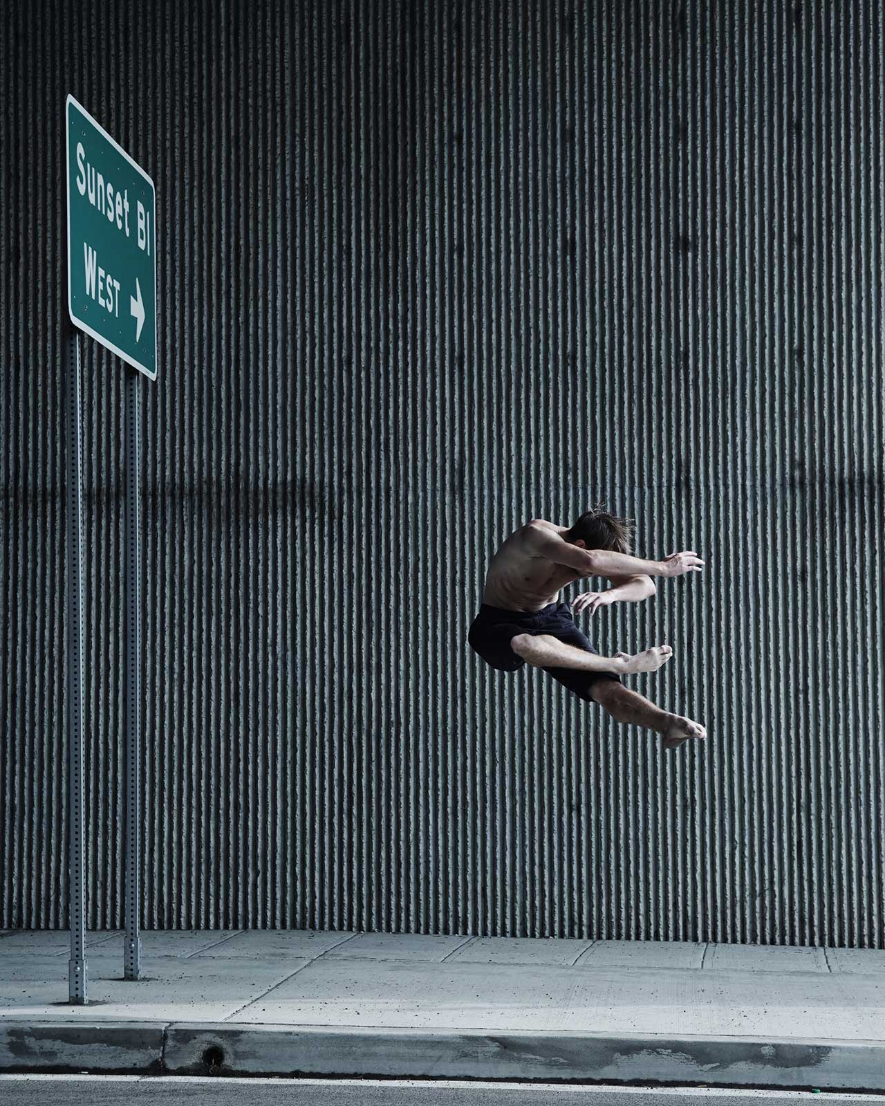 Dancer Robert Robinson | Photo © Jacob Jonas.