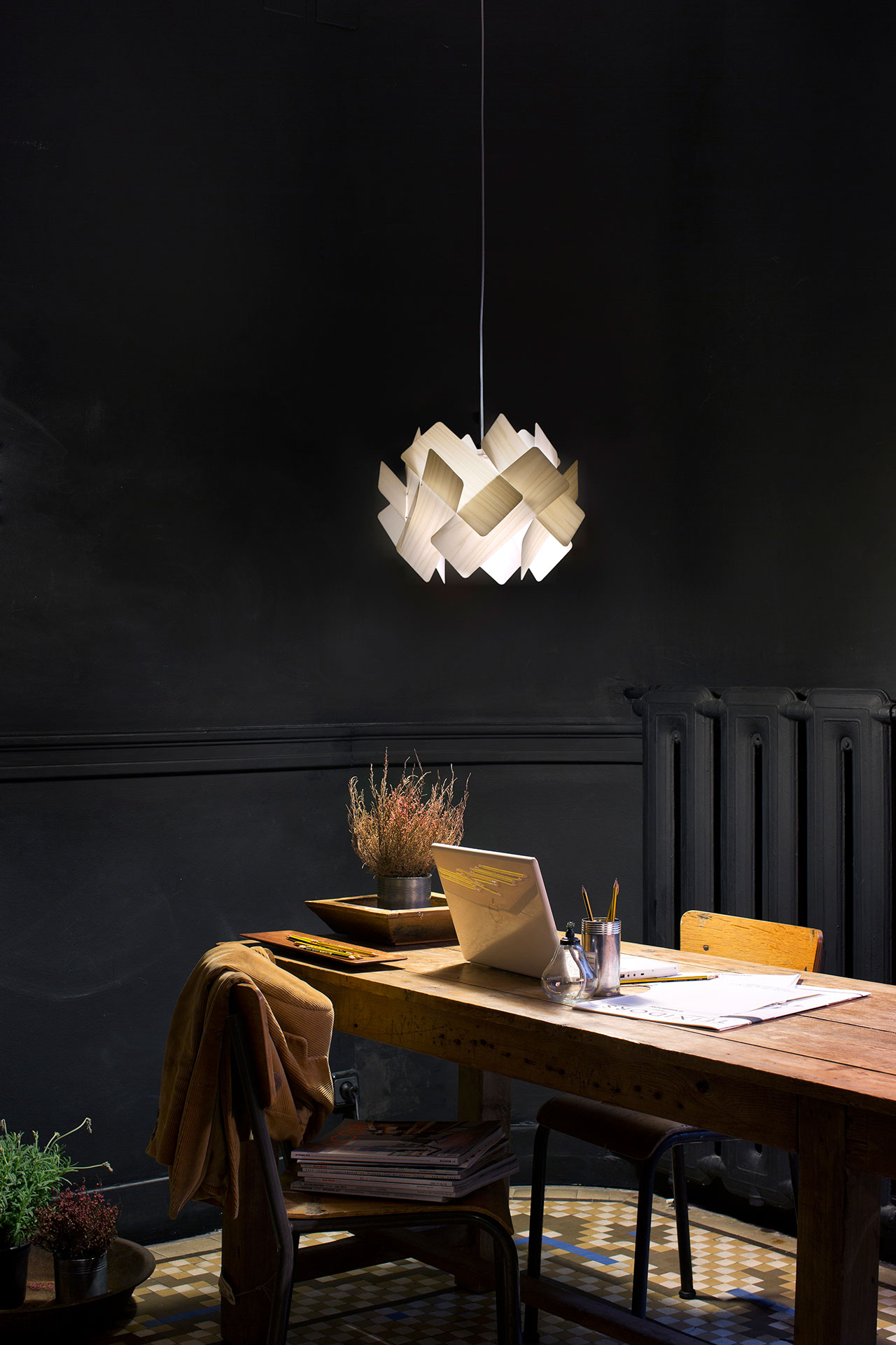 "Escape pendant lamp by Ray Power, LZF's ""high fidelity"" collection. Photo © LZF."