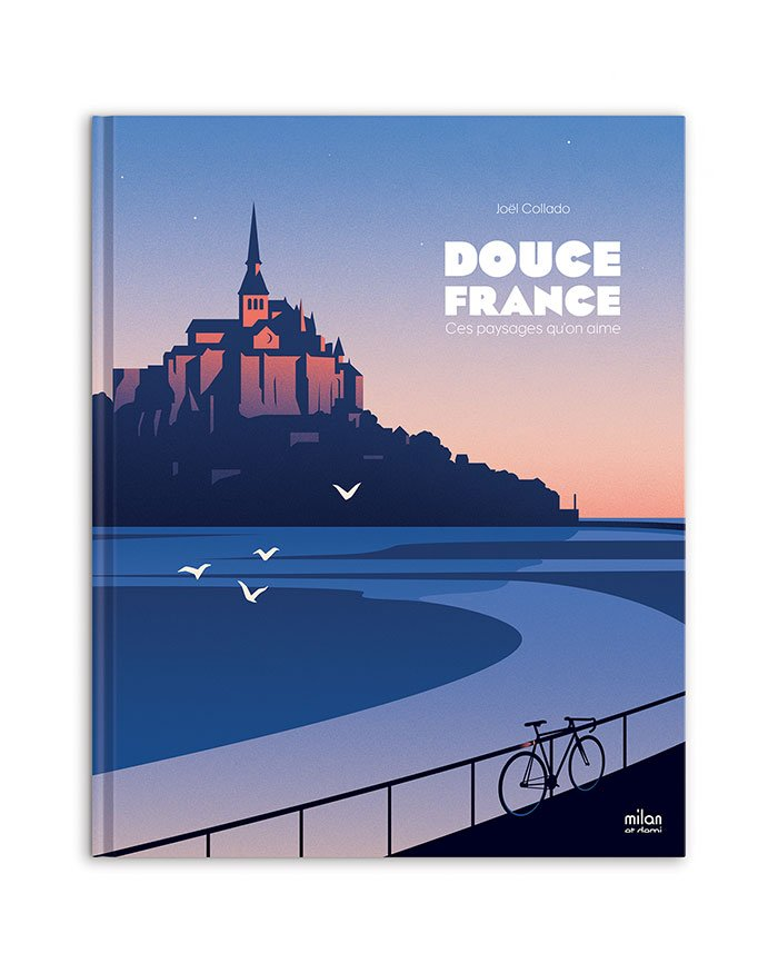 Thomas Danthony, Book cover for Douce France a book about french landscape, written by Joël Collado and published by Milan et Demi. © Thomas Danthony.