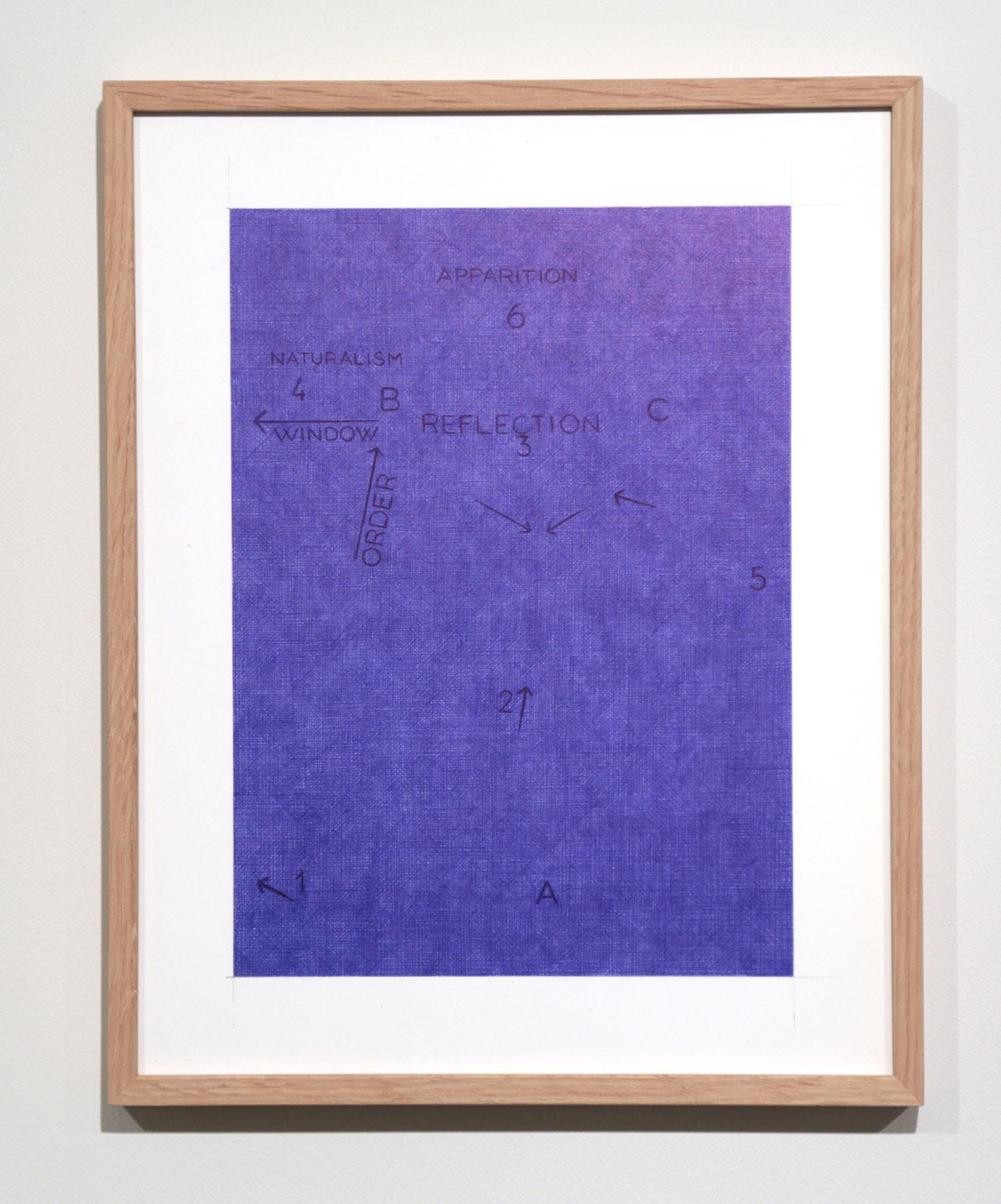 Giuseppe Stampone,Tentative Ecouchee d'une peinture utopiste(detail), 2016;bic pen on paper (particular)©Giuseppe Stampone,MLF | Marie-Laure Fleisch Gallery.