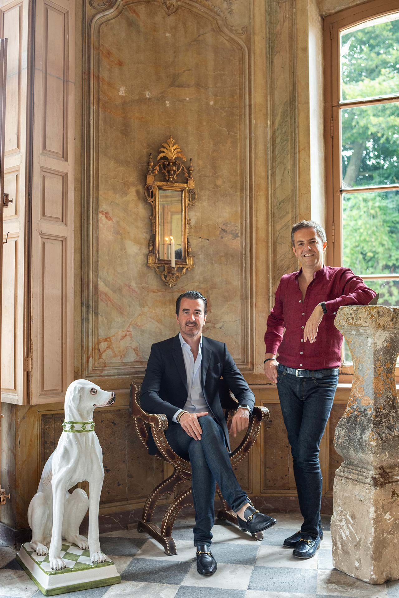 John Coury and Florent Maillard portrait. Photo by Francis Amiand.
