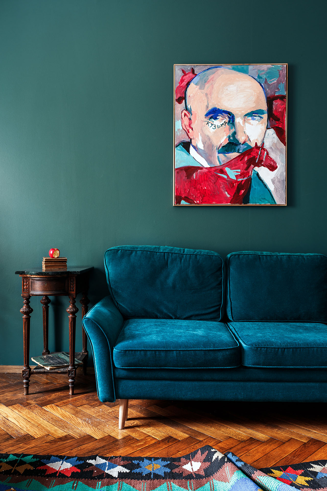Photo by Anton Ivanov. Styling by Anna Koroleva. Painting by Tima Illarionov.