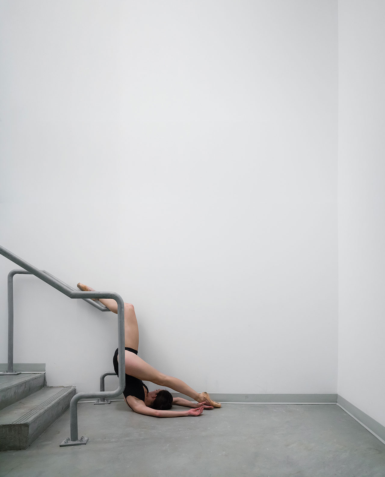 Location: Valley Performing Arts Center | Dancer Anna Gerberich | Photo © Minh Tran from the series #CamerasandDancers.