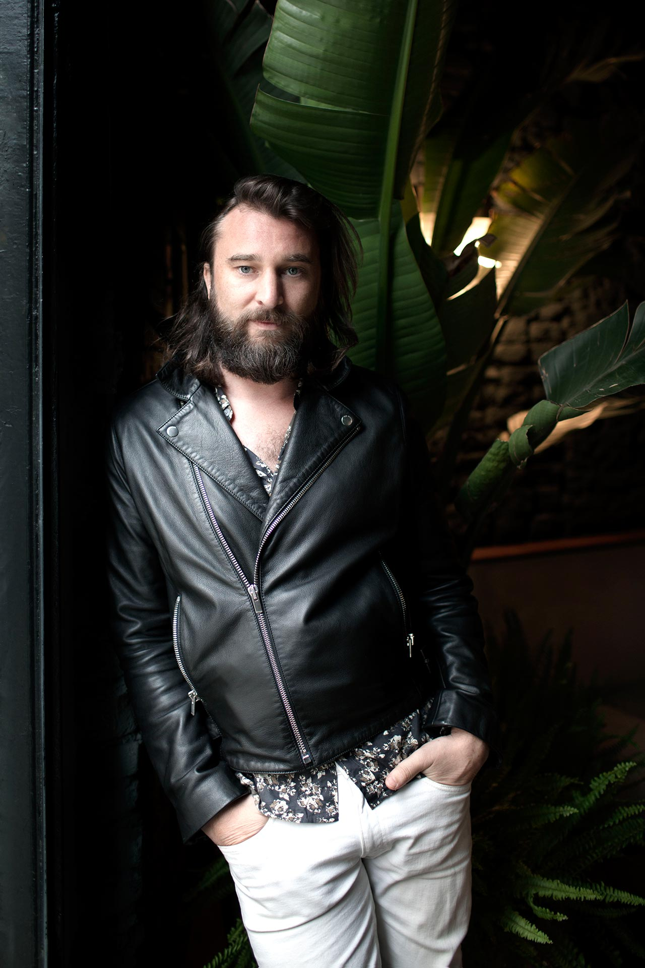 Nic Cester portrait. Photo by Alberto Strada.