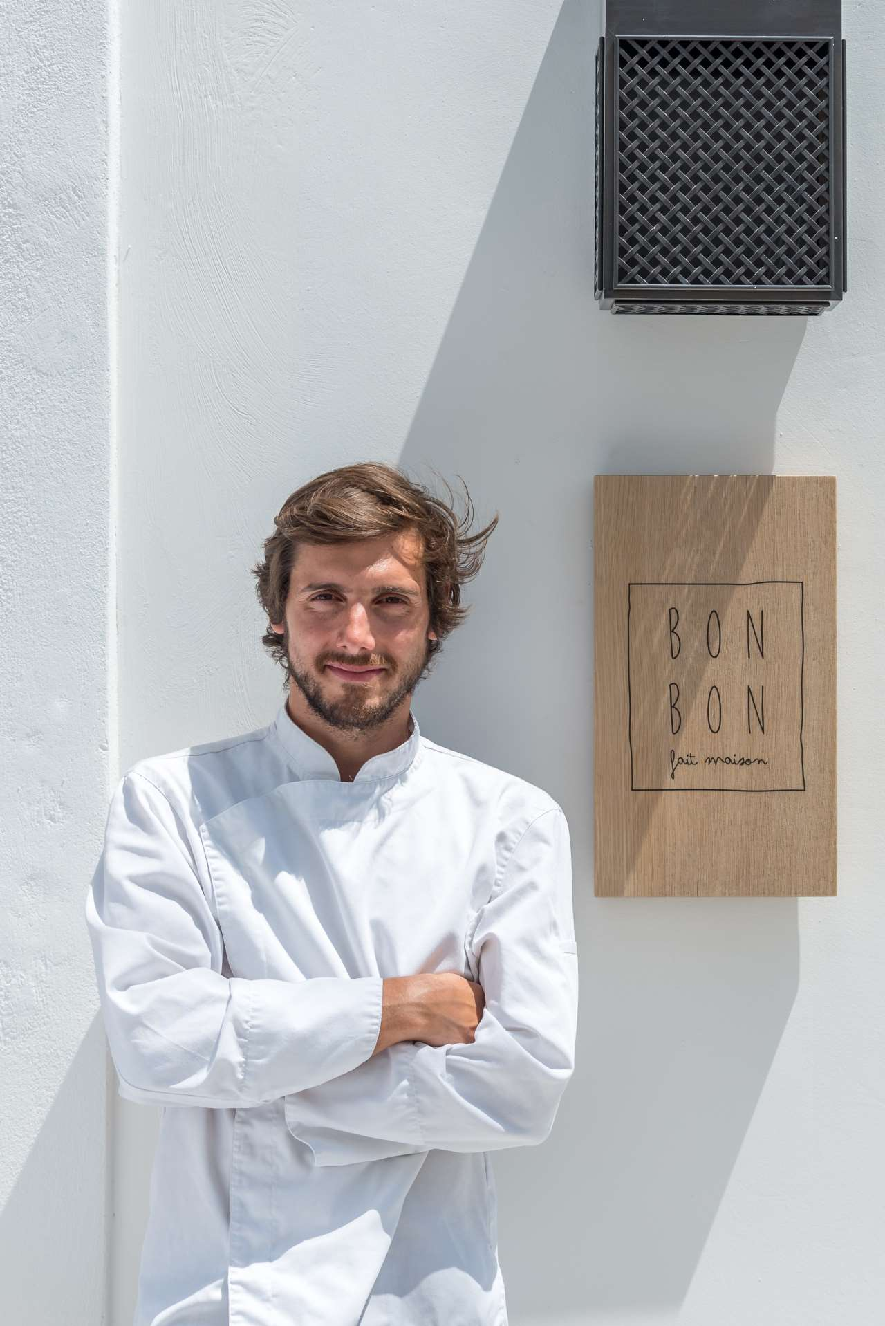 Kriton Minas Poulis, Co-founder and Chef. Photo by Giorgos Sfakianakis.