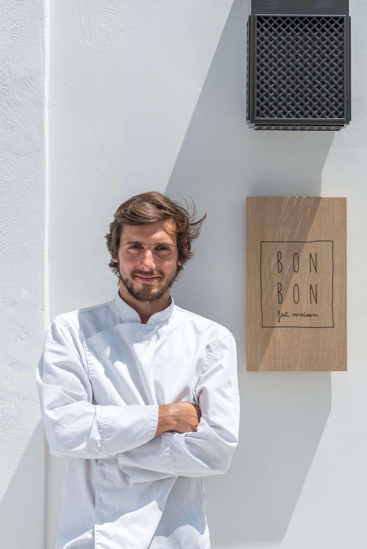 Kriton Minas Poulis, Co-founder and Chef. Photo byGiorgos Sfakianakis.