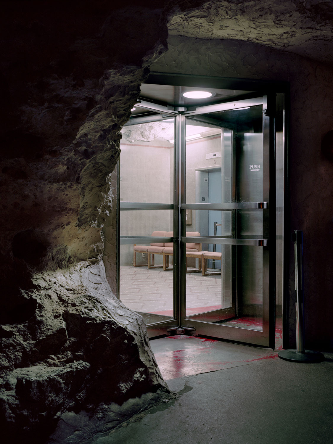 Austin Irving, Carlsbad Caverns Elevator Room, New Mexico, 2010.