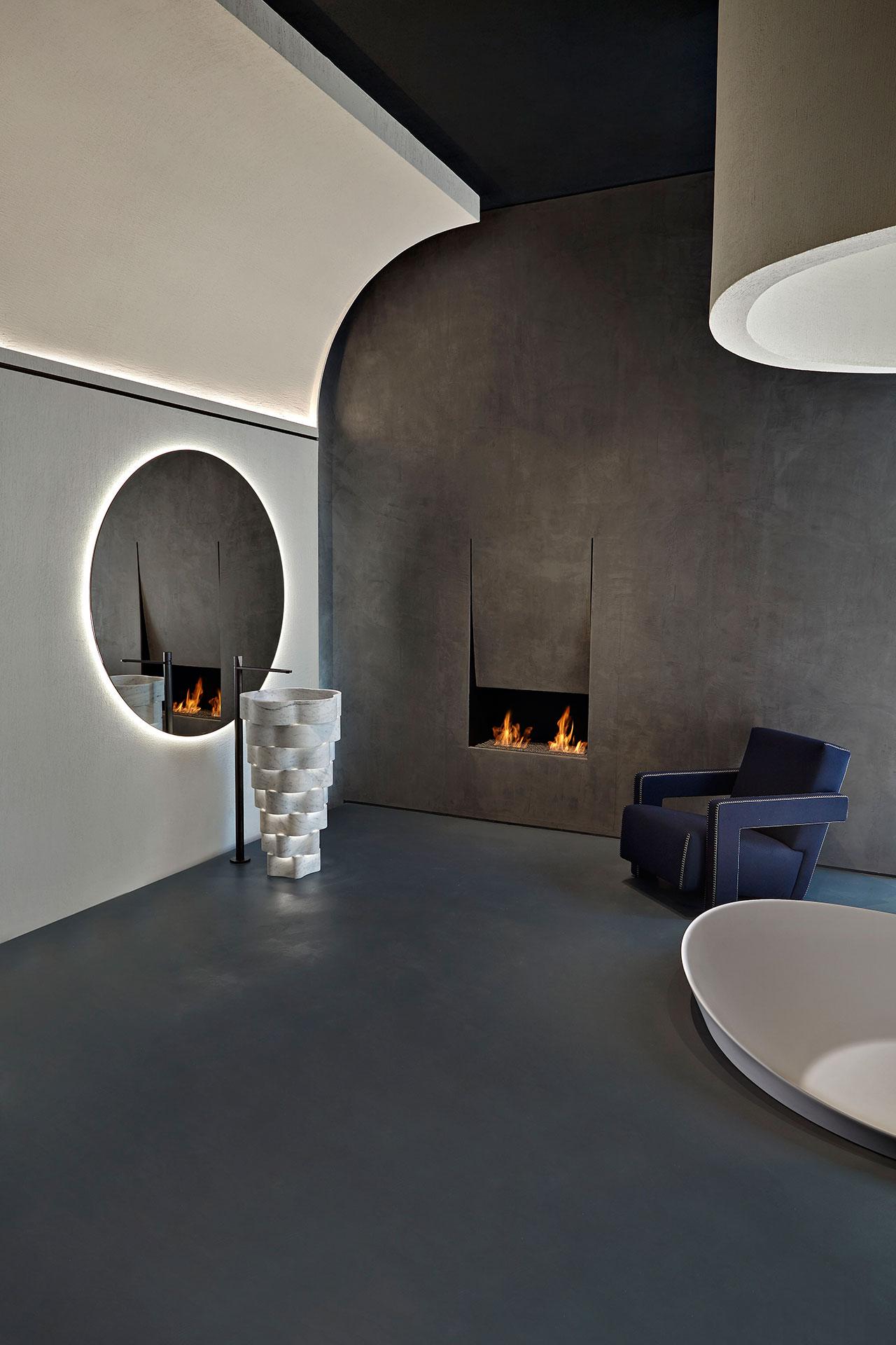 Antoniolupi Showroom in Milano, 2018. Interior design by Calvi Brambilla. Photo by Camilla Maria Santini.