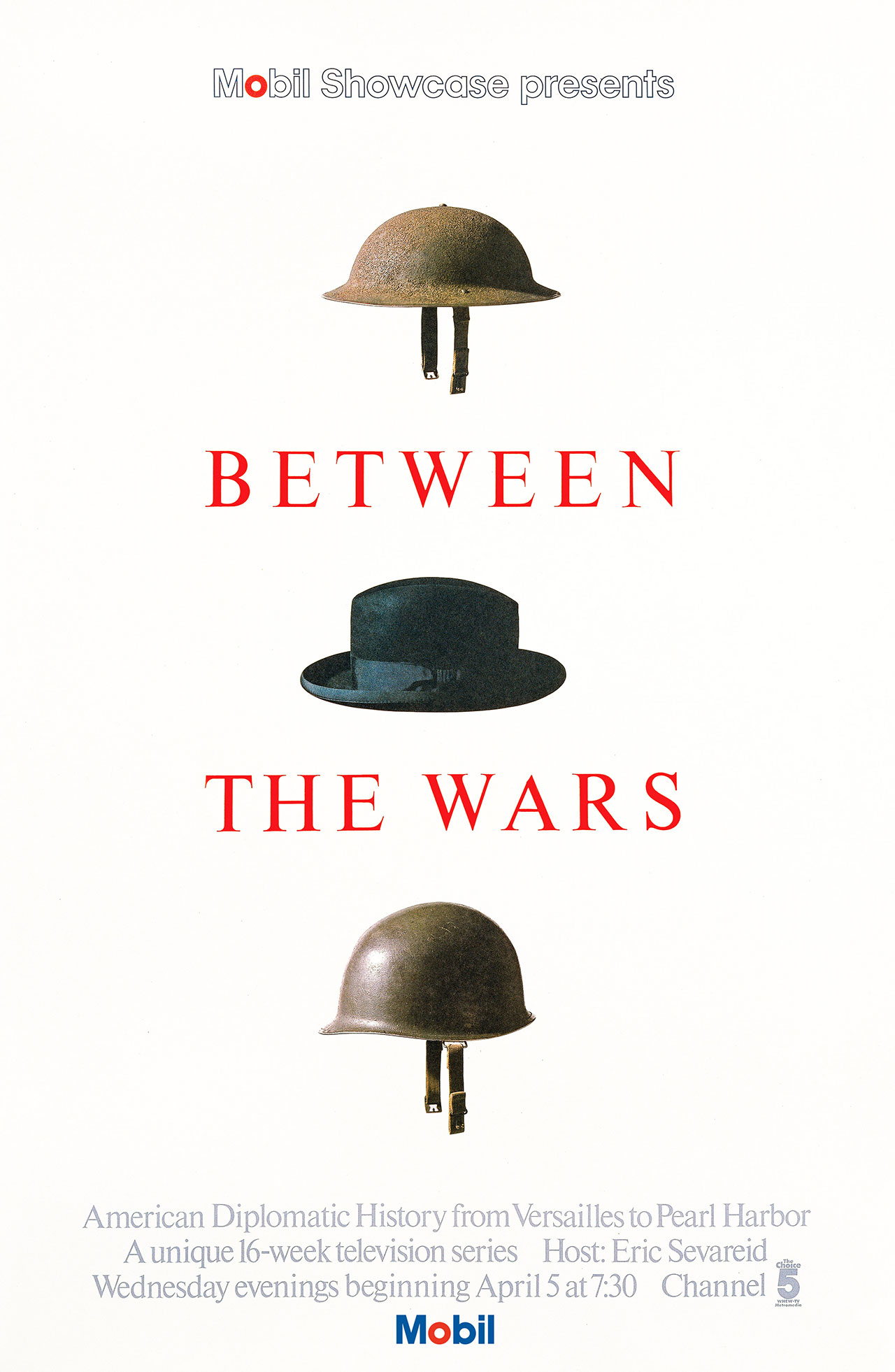 Between The Wars poster, 1977. © Chermayeff & Geismar & Haviv.