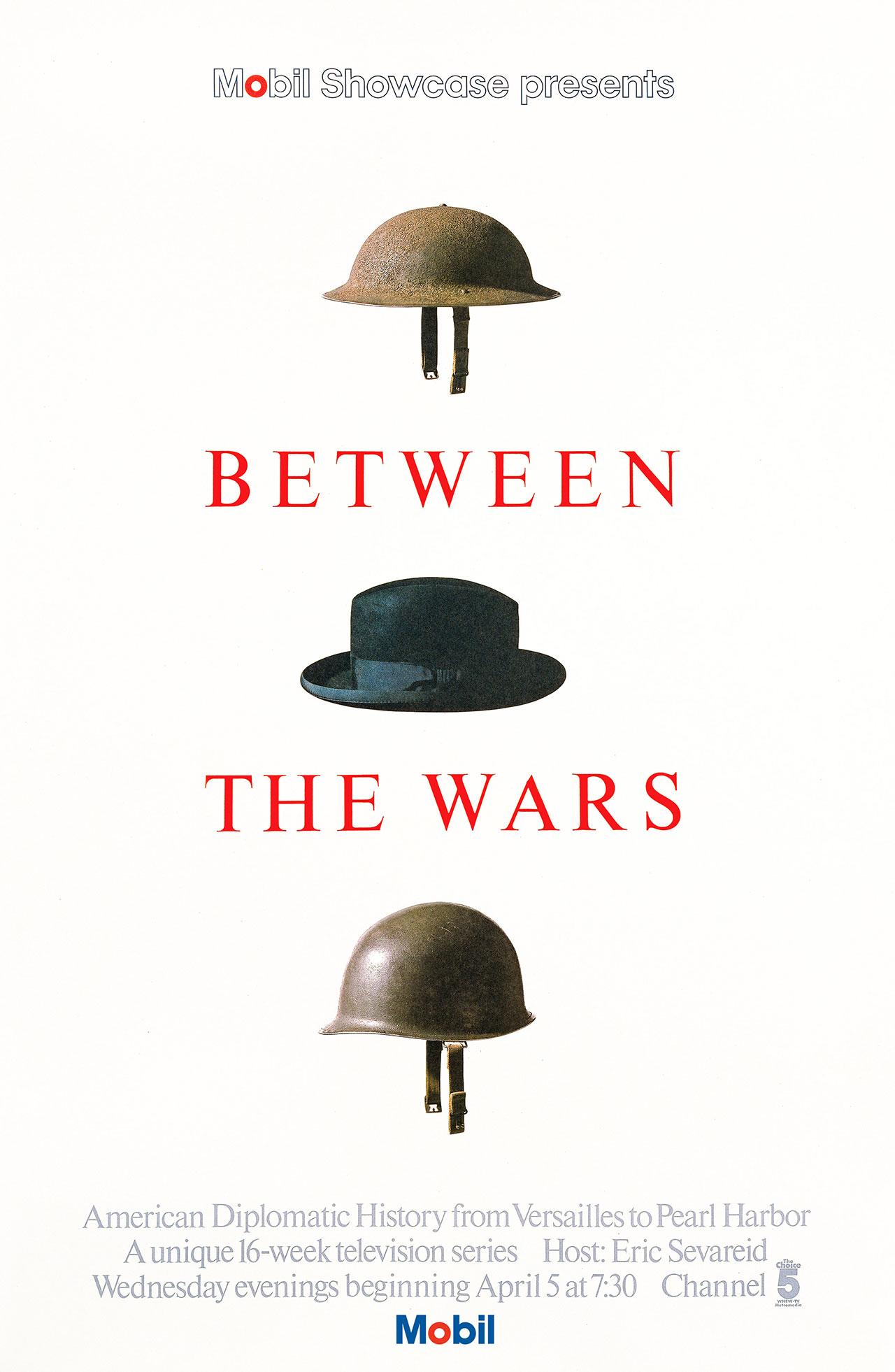 Between The Wars poster, 1977. ©Chermayeff & Geismar & Haviv.