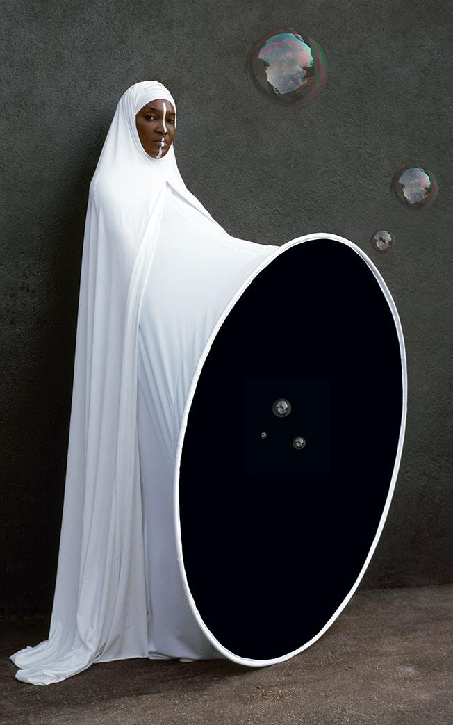Maïmouna Guerresi,Genitilla- Al Wilada, 2007, Lambda Print, 200x125 cm. Copyright© Maïmouna Guerresi,courtesyMariane Ibrahim Gallery-Seattle&Matèria Gallery-Rome.