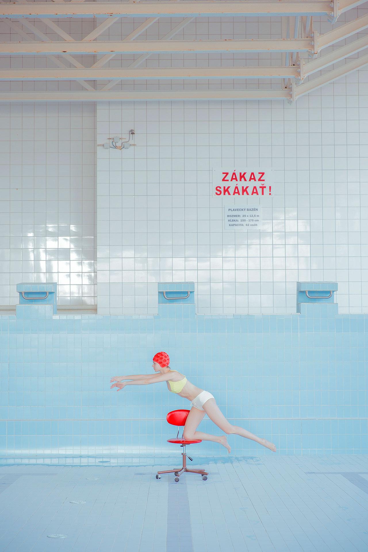 Mária Švarbová, POOL without WATER series. ©Mária Švarbová.