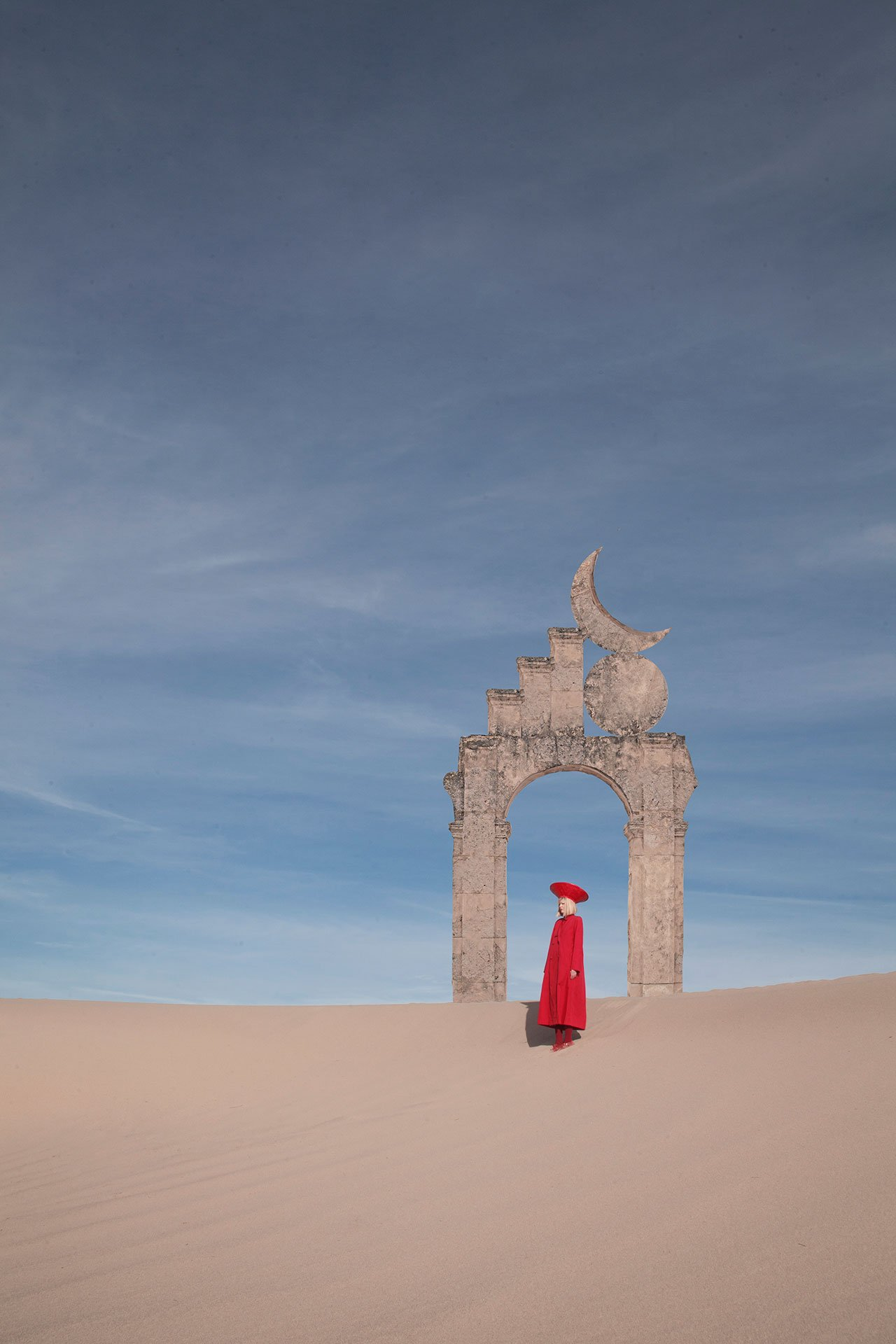 'Red dune alter me'. Photo © Petecia Le Fawnhawk.