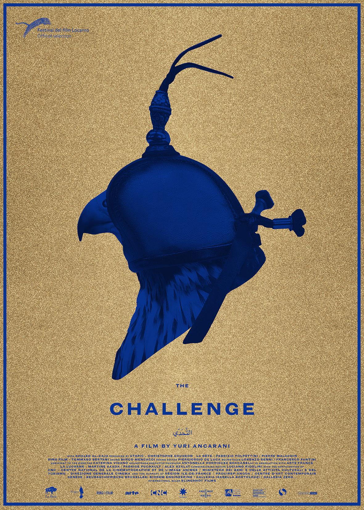 The Challenge by Yuri Ancarani, film poster © Yuri Ancarani.