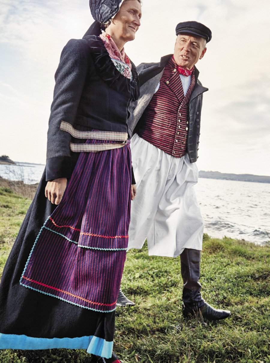 Mönchguter Tracht Baltic Sea, Mönchgut Photo by Gregor Hohenberg from 'Traditional Couture' © Gestalten 2015.