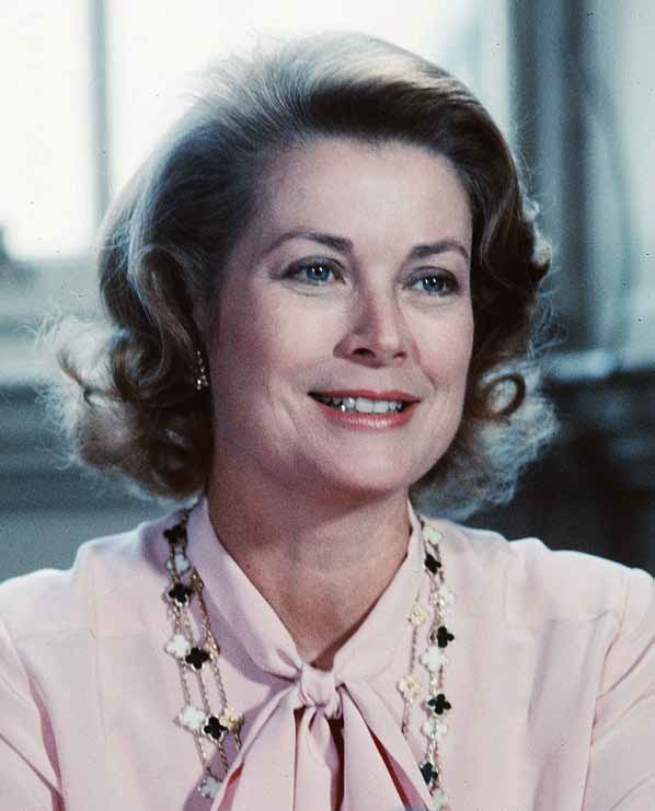 Her Serene Highness Princess Grace of Monaco, at a poetry reading in Edinburgh, 1979. © Anwar Hussein/Getty Images.